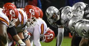 Oakland Raiders vs Kansas City Chiefs En Vivo